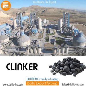 Portland Cement Clinker in Loading Port