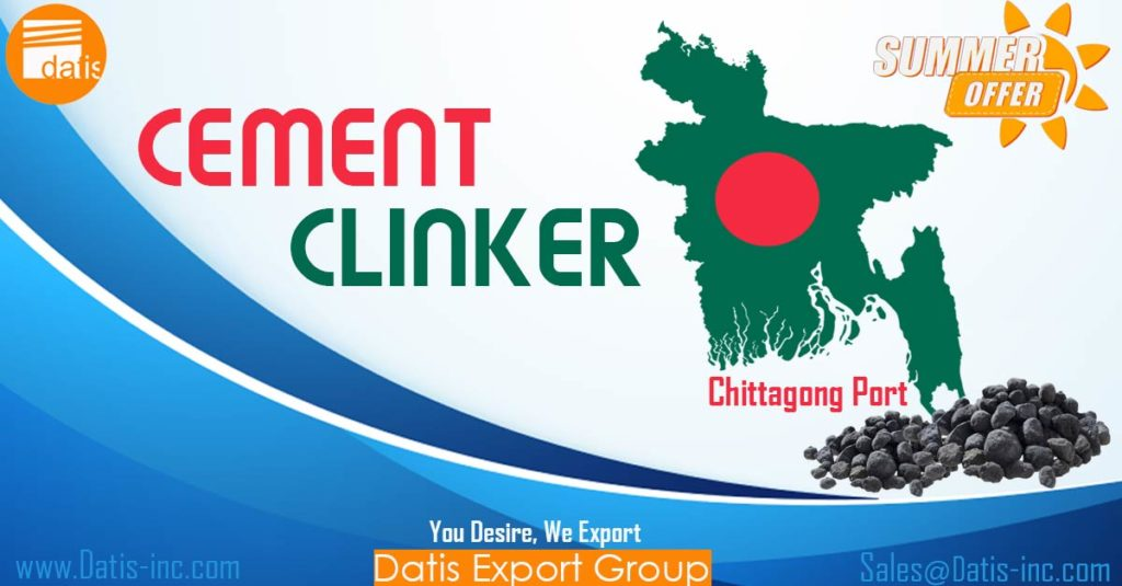 cement clinker sale for Chittagong