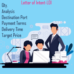 Letter of Intent-LOI-datis export group-supplier price