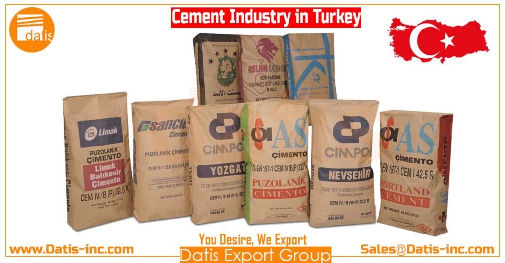50 Kg Bag- Cement in Turkey-Turkey ÇİMENTO- by Datis Export Group