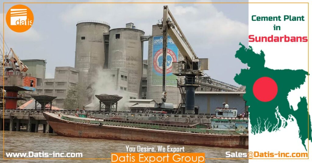 Cement plant in Sundarbans -Bangladesh-by Datis Export Group