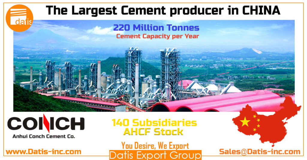 How many cement plants are producing in CHINA 2020-The largest Cement Producer in CHINA-CONCH cement