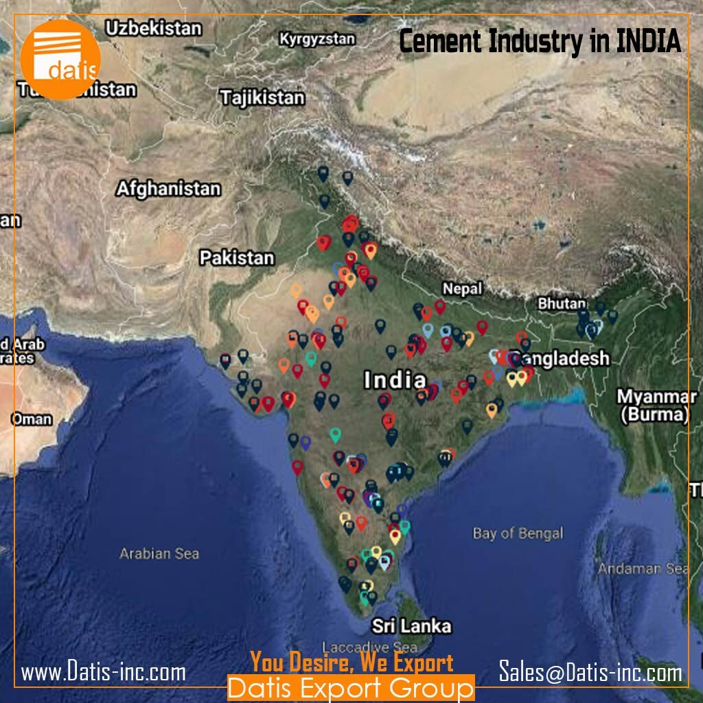 How many cement plants are producing in INDIA 2020