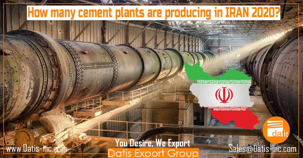 How many cement plants are producing in IRAN 2020