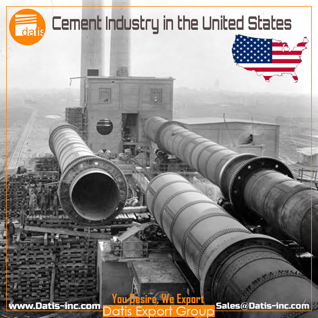 How many cement plants are producing in the USA 2020