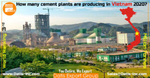 How many cement plants are producing in Vietnam 2020