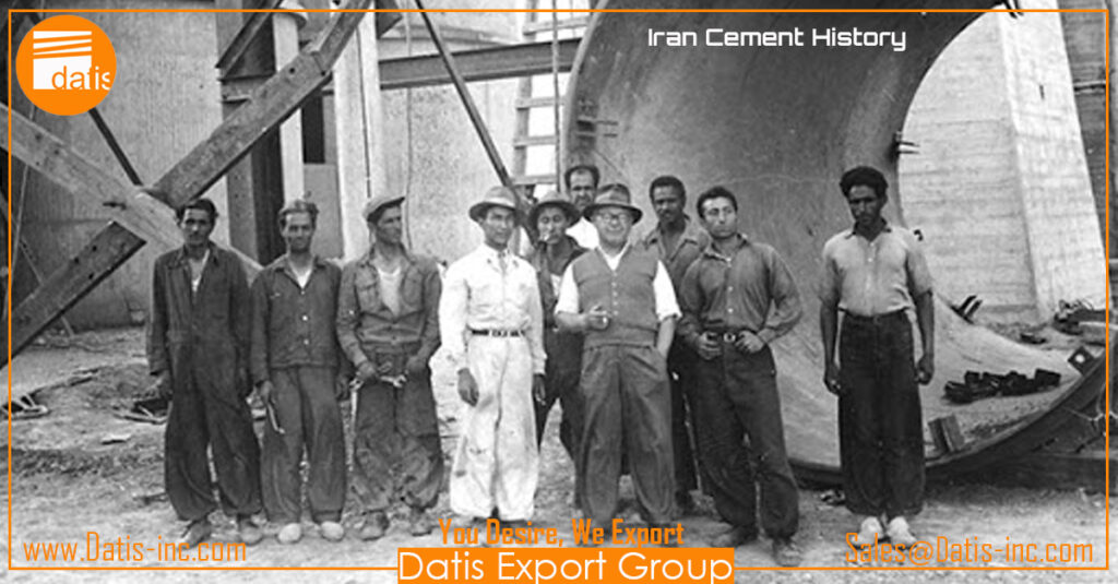 How many cement factories are producing in Iran 2020