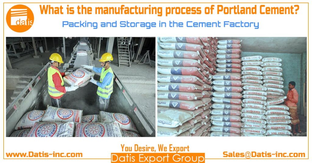 Packing and Storage in the Cement Factory-Datis Export Group-Cemen Supplier in the Middle East