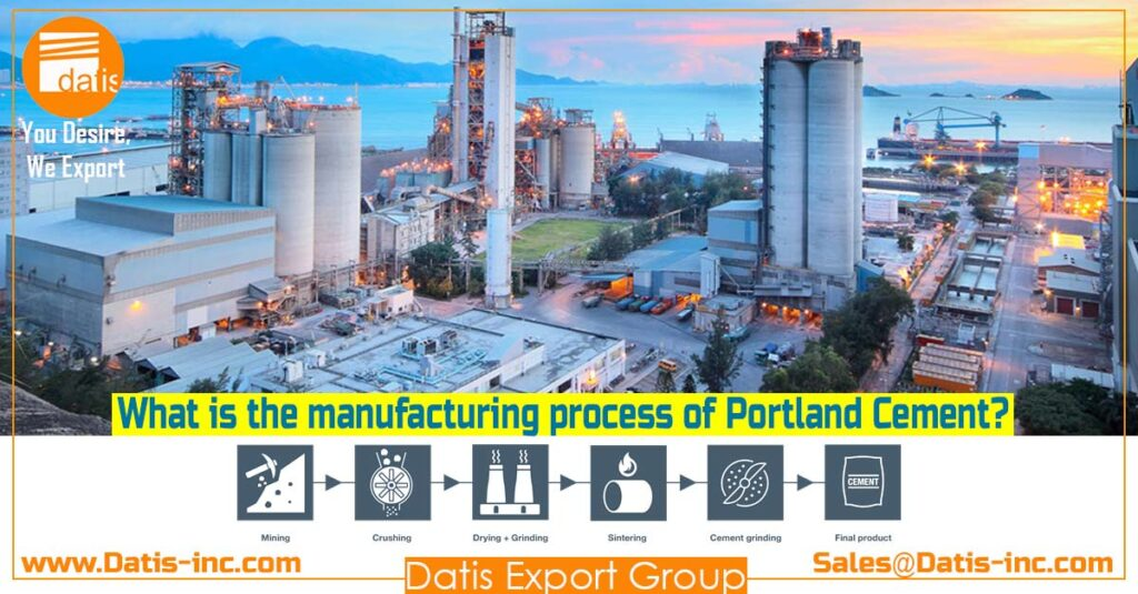 Portland Cement Production-Datis Export Group - The Best Clinker Supplier