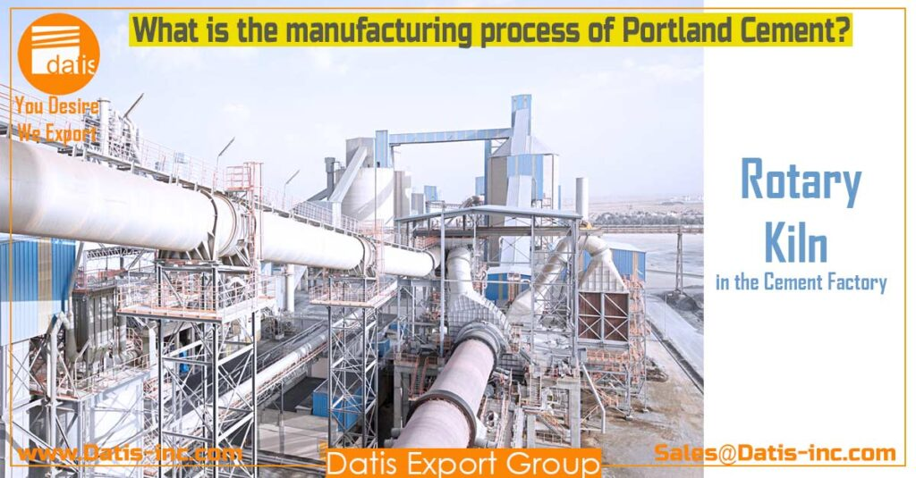 Rotary Kiln in the Cement Factory-Datis Export Group-Cement Supplier